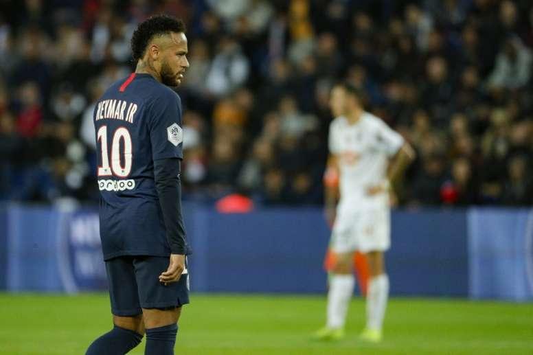 Neymar tornerà in campo contro il Lille. AFP