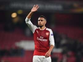 Coquelin quitte l'Angleterre. AFP