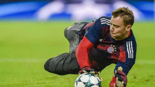 Neuer has been out all season. AFP