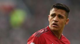 Alexis. entre los mejores de la década en Inglaterra. AFP