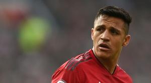 Alexis vai à Copa América pensando na saída do United. AFP
