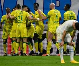 Marseille were surprisingly beaten at home. AFP