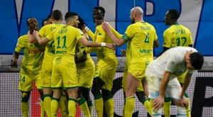 Villas-Boas admits Marseille were poor v Nantes. AFP