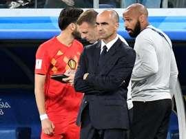 Graeme Jones fue el segundo de Roberto Martínez en la Selección Belga. AFP