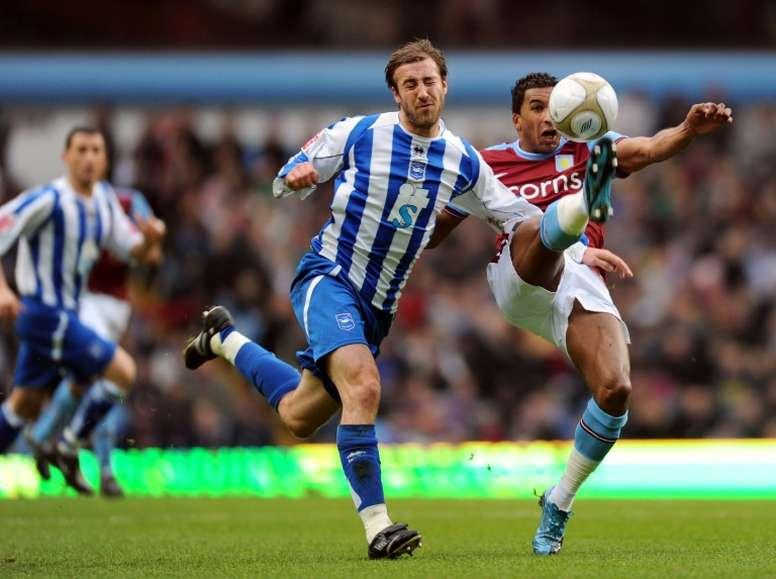 Brighton struggled through to a win. AFP