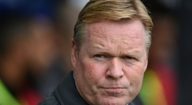 Koeman published a letter thanking everyone for their support. EFE