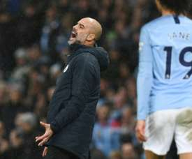 City were stunned. AFP