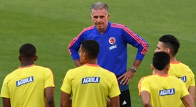 Queiroz has put the pressure on Chile ahead of Colombia's crunch match. AFP