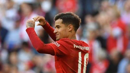 Arsenal rejoint la bataille d'Angleterre pour Coutinho. AFP