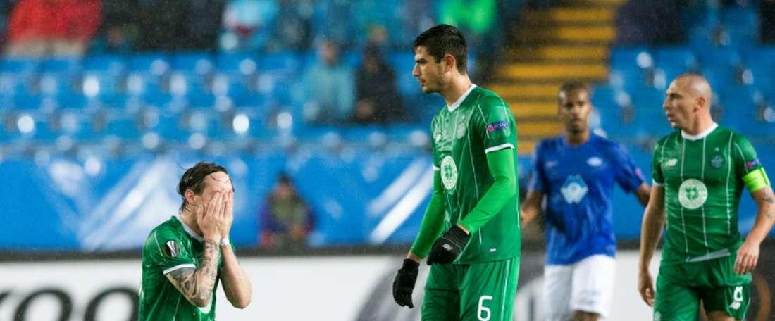 Nir Bitton podría dejar el Celtic por el Espanyol. AFP