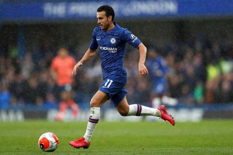 Pedro will be out of contract at the end of the season. AFP