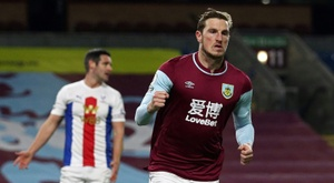 Burnley won 1-0. AFP