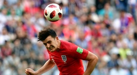 Maguire, objetivo del United. AFP