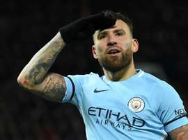 Otamendi could be set for a return to La Liga. AFP