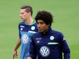 Dante, the newly signed Brazilian defender for Wolfsbury. AFP