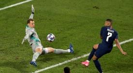 Les meilleurs arrêts de Neuer en Ligue des Champions 2019-2020. AFP