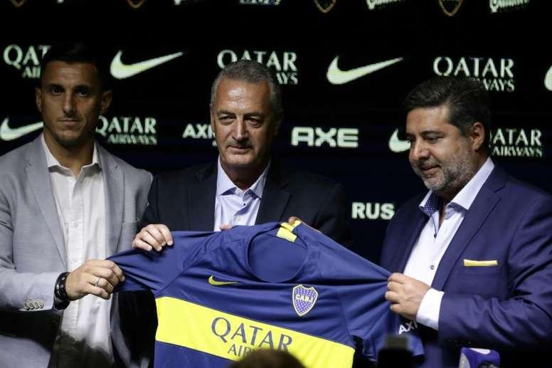 Boca Juniors name Alfaro as new coach.