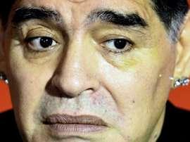 D'Alessandro accuse Maradona de ne l'avoir 'ignoré' en raison de thèmes extra-sportifs. AFP
