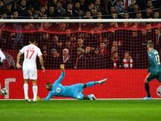 Ajax won 2-0. AFP