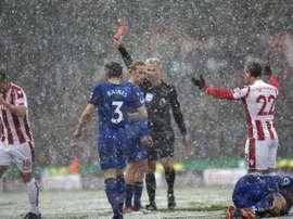 Vida muito difícil para o Stoke City. AFP
