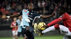 Kadewere, le jeune crack du Zimbabwe qui affole la Ligue 2. AFP