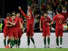 Les compos probables du match de qualification à l'Euro entre la Serbie et le Portugal. AFP