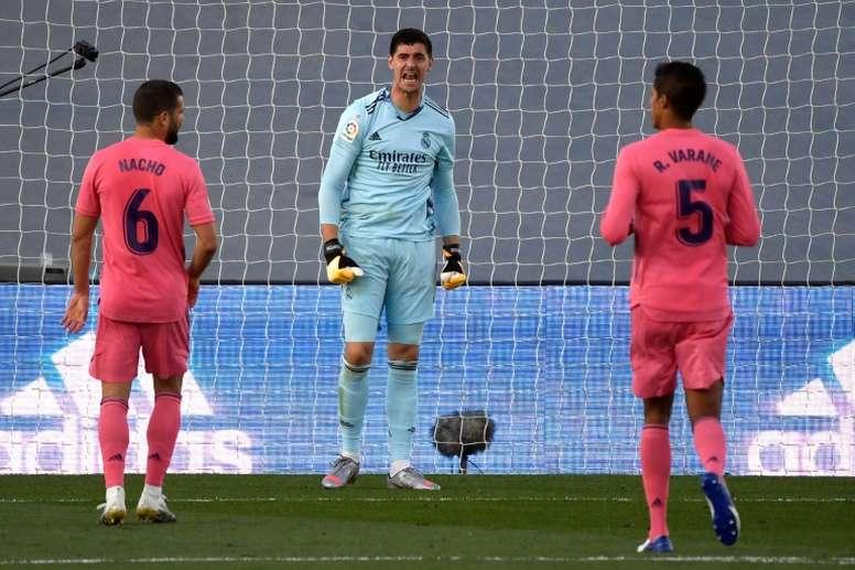 El Real Madrid vuelve a la acción en Champions. AFP