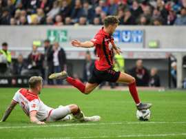 Freiburg up to third after comeback win at Duesseldorf. AFP