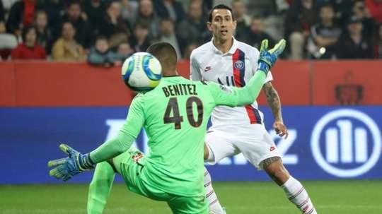 Di Maria, Mbappe guide PSG past nine-man Nice. GOAL