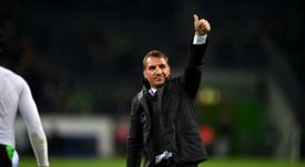 Rodgers ha ganado todo lo ganable con el Celtic. AFP/Arhcivo