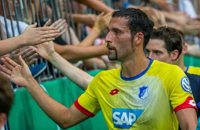 El ex jugador del Hoffenheim está intentando encontrar un nuevo equipo. AFP