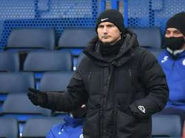 Frank Lampard has been sacked as Chelsea boss. AFP