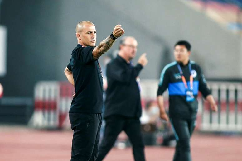 Ex-Man City star Sun says foreign coaches in China just for money. AFP