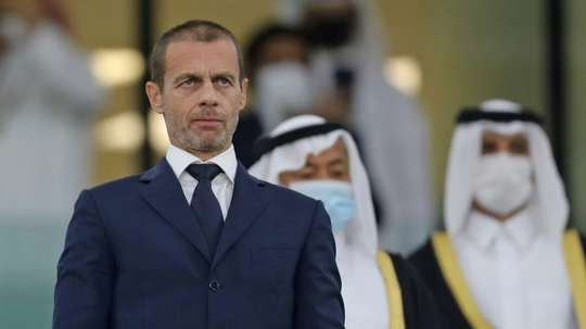 UEFA president Aleksander Ceferin is expected to make a decision by March 5. AFP