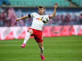 Timo Werner decided not to stay at Leipzig until the end of August. AFP