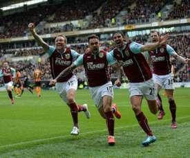 El Burnley ha logrado una victoria tras tres derrotas seguidas. AFP
