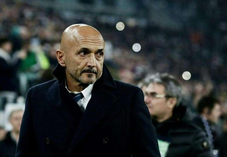 OFICIAL: el Inter anuncia la destitución de Spalletti. AFP