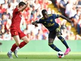 Les compos probables du match de Premier League entre Arsenal et Liverpool. AFP