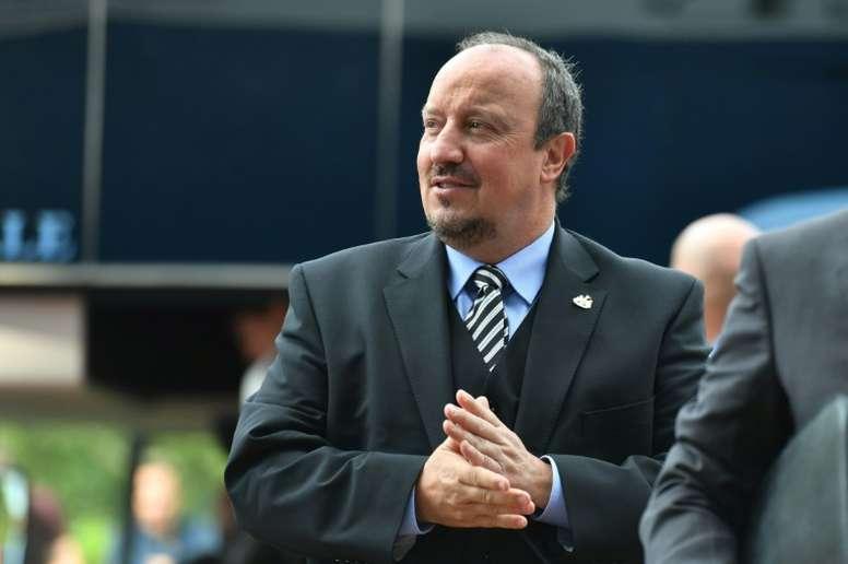 El técnico respondió al ser preguntado por las palabras de su ex jugador. AFP