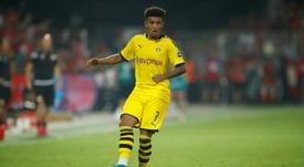 United pourrait écarté la piste Sancho à cause de son comportement. AFP