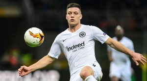 Jovic has been widely praised this season. AFP