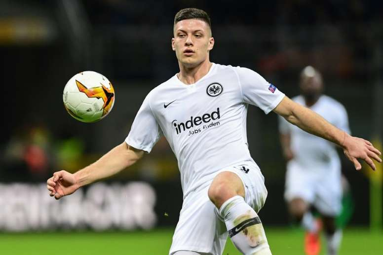 Jovic é o avançado mais desejado no Real Madrid. AFP