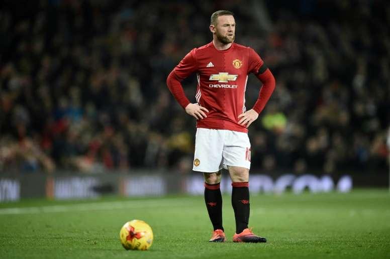 Manchester Uniteds striker Wayne Rooney Rooney is one goal short of Bobby CHarltons clud record