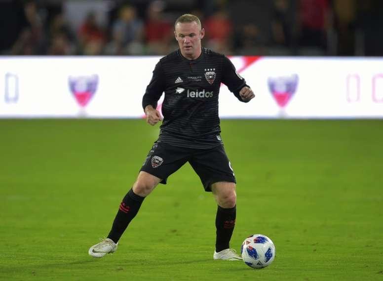Rooney fue el jugador más destacado del encuentro. AFP