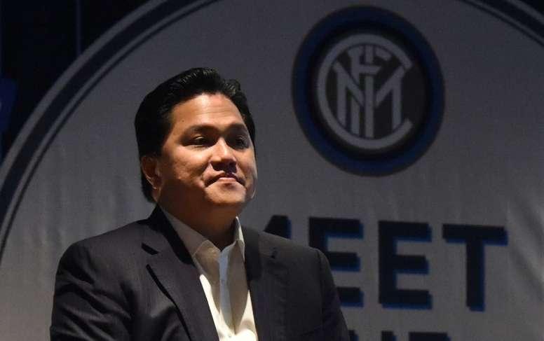 Thohir è azionista di minoranza. AFP