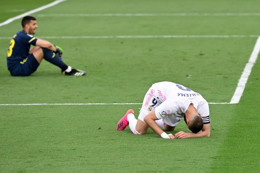 El Madrid afronta la renovación de Benzema hasta 2023. AFP
