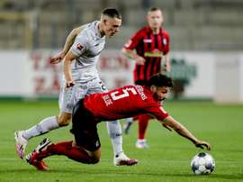 Wirtz becomes Bundesliga's youngest scorer at 17 years and 34 days. AFP