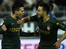 Radamel Falcao penalties gave Monaco a second win in three matches. AFP