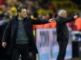 Bayern lost the Klassiker. AFP