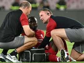 Salah, Van Dijk y Manó también están 'k.o.'. AFP